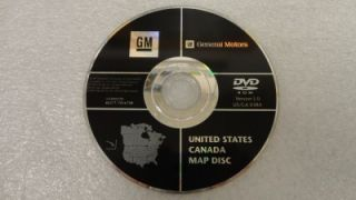 GM CADILLAC ESCALADE HUMMER H2 OEM FACTORY NAVIGATION GPS DVD MAP DISC