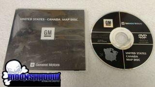 GM CADILLAC ESCALADE HUMMER H2 OEM FACTORY NAVIGATION GPS DVD MAP DISC
