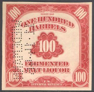 Beer Tax Stamp Scott Priester REA188 214A