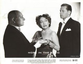 Gloria Swanson William Holden Erich Von Stroheim Orig Sunset Boulevard