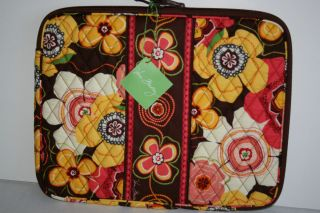 NWT Vera Bradley 15 Laptop Sleeve Case Cover in Buttercup Floral