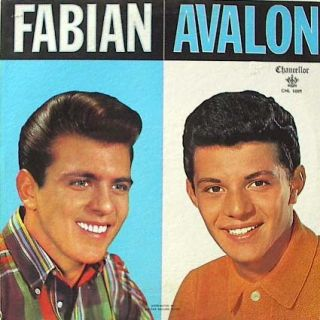 Original Fabian Frankie Avalon Chancellor Record Album