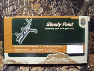 Steady Point Shooting Rest with Gun Vise P N 40873
