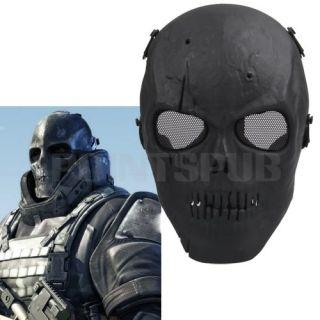 Paintball Game Hunting Biker Ski Full Half Face Protect Mask Guard
