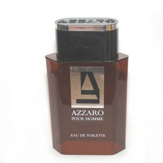 LARGE AZZARO Pour Homme Dummy/Factice/Display Plastic Perfume Bottle