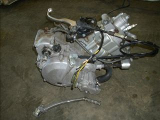 Kawasaki KDX200 KDX 200 Complete Motor Engine Cylinder Crank Case