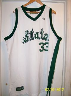 Ervin Magic Johnson Michigan State Spartans NCAA Basketball Jersey LA