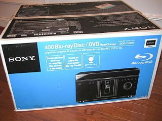 400 DISC BDP CX960 BDPCX960 BLU RAY DVD PLAYER IN FACTORY SEALED BOX
