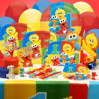 Sesame Street Elmo 1st Birthday Party Supplies You Pick Tablecover