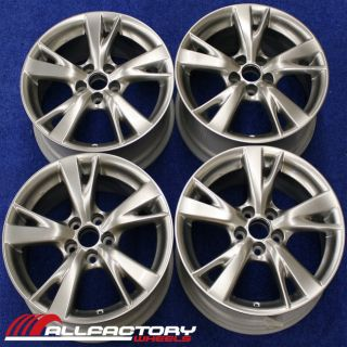 IS250 IS350 IS 18 2009 2010 FACTORY OEM WHEELS RIMS SET 74217 74218