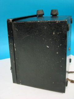 Mac Fadden B Power Supply Generator Model 5 Battery Eliminator Battery