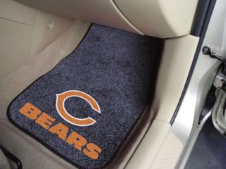 Chicago Bears NFL 2 Piece Car & Truck Front Floor Mats by Fan Mats