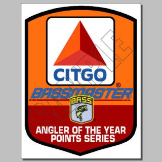 Fishing Decals Stickers Citgo B Master Classic Busch