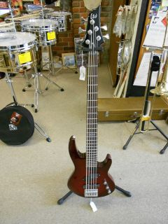 ESP LTD B 55FMSTRSB 5 String Electric Bass Guitar *New*