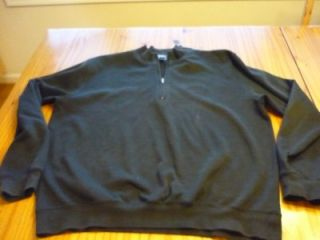 Bulleit Bourbon cotton poly 1/4 zip sweatshirt adult Large XL