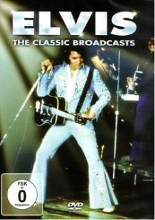 Elvis Presley Broadcasts DVD New Live in Concert
