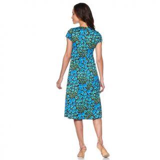 Tiana B. Short Sleeve Jersey Dress and Shrug Set
