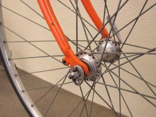 Eddy Merckx Falcon Cycles Moltini Orange Road Bike