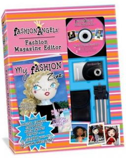 Fashion Angels Magazine Edior w Camera and More