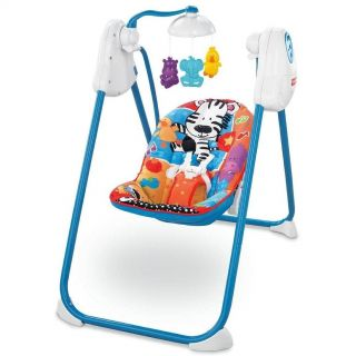 Price Adorable Animals Fold Flat Baby Swing V4356 Brand New