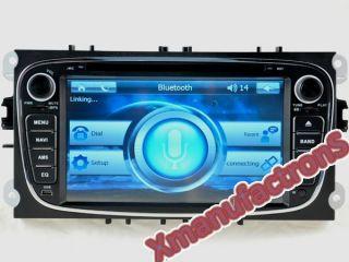 Radio Navigator FORD MONDEO FOCUS SMAX GPS Navegador DVB T TDT