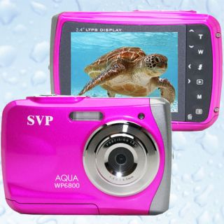 18MP Underwater Digital Camera Camcorder Waterproof to 10 Feet