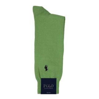 Polo Ralph Lauren Mens Socks Classic Light Weight Slack Grass 1 Pair