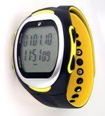 Waterproof Exercise Monitor Wrist Watch with Data Memory