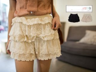 New Cute Summer Womens Girls Japanese Korean Fashion Style Lace Layer