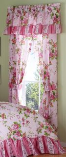 Felice Pink Floral Drapery