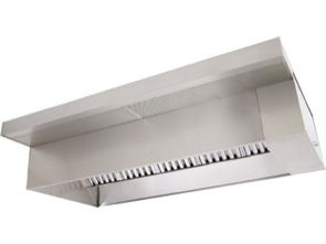 12 Restaurant Vent Hood System with Fans Curbs