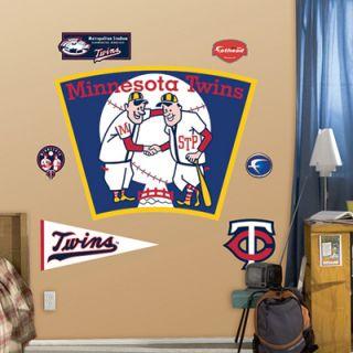 Fathead Wall Graphics Set Minnesota Twins Logo 6363248