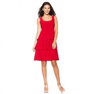 186 271 tiana b tiana b sleeveless tiered jersey dress note customer