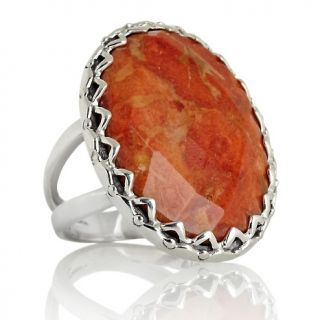 209 941 himalayan gems bold oval gemstone sterling silver ring rating