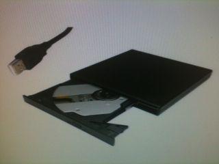 USB 2 0 Slim External DVD ROM CD RW Combo Drive Writer