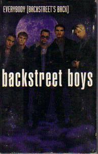 Everybody Single by Backstreet Boys Cassette 1988