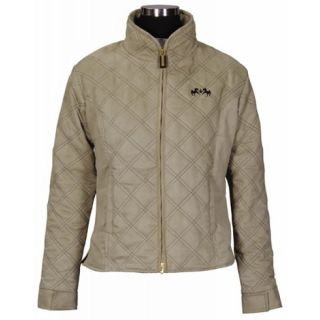 Equine Couture Natasha Riding Jacket Tan Grey Ladies All Sizes Sale