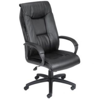 Office Chairs High Back Black Leather Executive Chair
