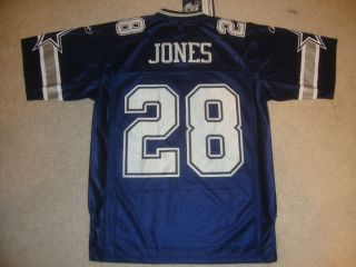 Dallas Cowboys FELIX JONES Sewn Jersey M Reebok Mens NFL Equipment