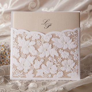 Sample Set Wedding Invitation Card Envelope Seal W1101