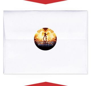 24 Halo 4 Birthday Party Favor Personalized Envelope Seals