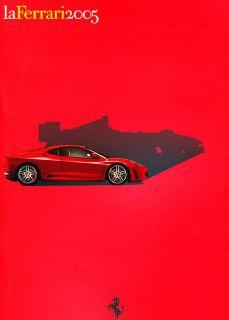 La Ferrari 58 Page Sales Brochure Book Formula Race F430 Spider 575M