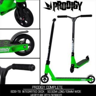 Envy Prodigy Complete Pro Scooter Green Black Razor Scooter District
