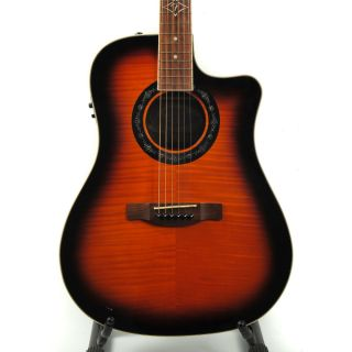 Fender T Bucket 300 Acoustic Electric Guitar Case Sunburst Dreadnought