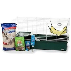super pet my first home kt complete ferret cage kit
