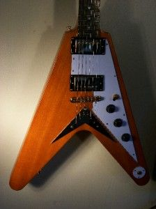 Epiphone by Gibson 1958 Korina Flying V Guitar