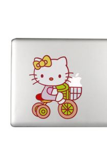 Yamamoto Industries Macbook HD Decal Hello Kitty on bike  Karmaloop
