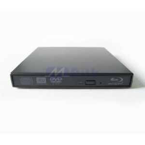 New USB 2 0 External Slim Portable DVD RW Blu Ray Drive for Laptop PC