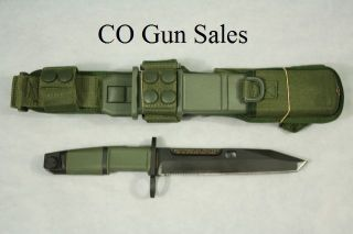 Extrema Ratio Fulcrum Bayonet Tactical Combat Knife