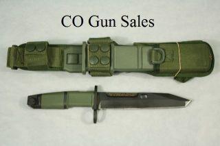 Extrema Ratio Fulcrum Bayonet Tactical Combat Knife